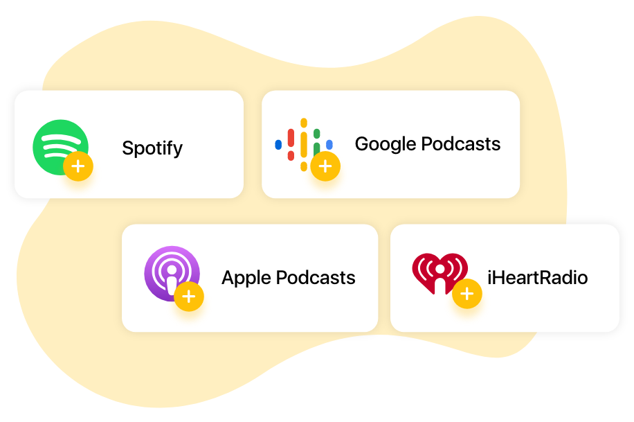 Start and distribute your podcast for free